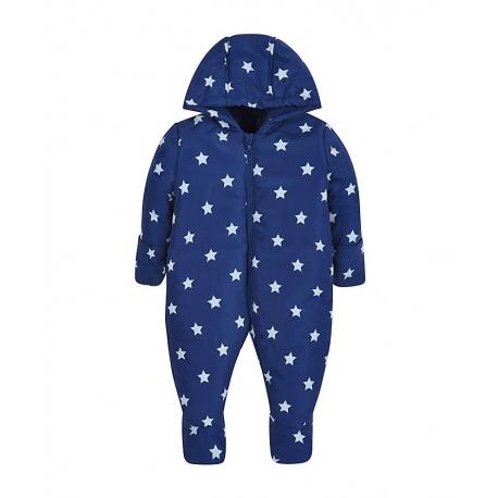 Mothercare - Salopeta Star Snowsuit, Bleumarin