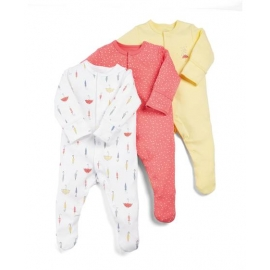 Mamas&Papas - Set Pijamale All-in-one Umbrella, 3 buc