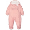 Tommy Hilfiger - Combinezon iarna Baby Skisuit, Pocket Pink