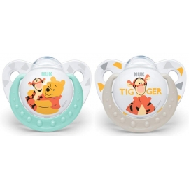 NUK - Suzete Disney Winnie the Pooh, 2 buc, 0-6 luni