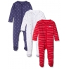 Mothercare - Pijamale body all-in-one Under the Sea, 3 buc