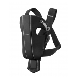 BABYBJÖRN -Marsupiu Baby Carrier Original, Black Cotton