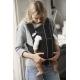 BABYBJÖRN -Marsupiu Baby Carrier Original, Black Cotton