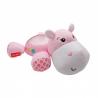 Fisher Price - Lampa muzicala cu proiectii Hippo, Roz