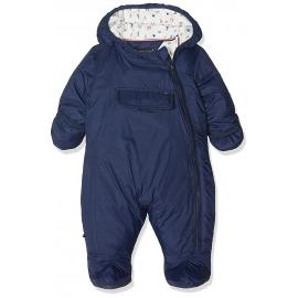 Tommy Hilfiger - Combinezon iarna Baby Skisuit, Pocket Navy