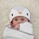 Gro - Prosop bebelusi super-absorbant Groswaddledry, Poppy the Penguin