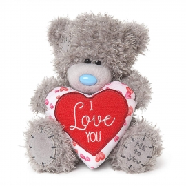 Me to You - Ursulet Tatty Teddy Heart - I Love You, Medium, 7""