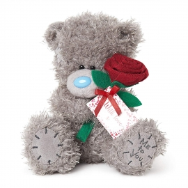 Me to You - Ursulet Tatty Teddy With Rose, Medium, 7""