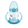 NUK - Canita cu manere First Choice+ 150ml, 6 luni+, Cars