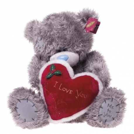 Me to You - Ursulet Tatty Teddy Furry - I love you so Much, Giant, 24""