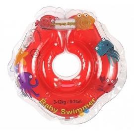 Babyswimmer - Colac Jumatate Transparent 0-24 luni
