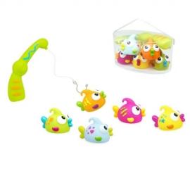 beboo Escabbo - Jucarie de baie cu 5 accesorii Micul Pescar