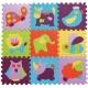 Babygreat - Covoras Puzzle Animalute Vesele 92x92 c