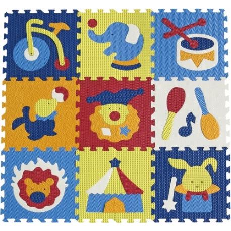 Babygreat - Covoras Puzzle Circul Minunat 92x92 cm