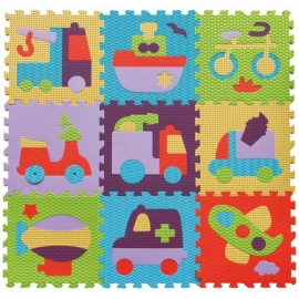 Babygreat - Covoras Puzzle Transport 92x92 cm
