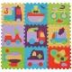 Babygreat - Covoras Puzzle Transport 92x92 cm