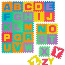 Knorrtoys - Covoras Puzzle Alfabet, 26 buc. 30x30 cm