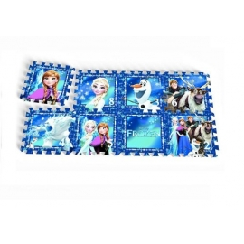 "Knorrtoys - Covoras Puzzle Frozen, ""Frozen Night"", 8 buc"