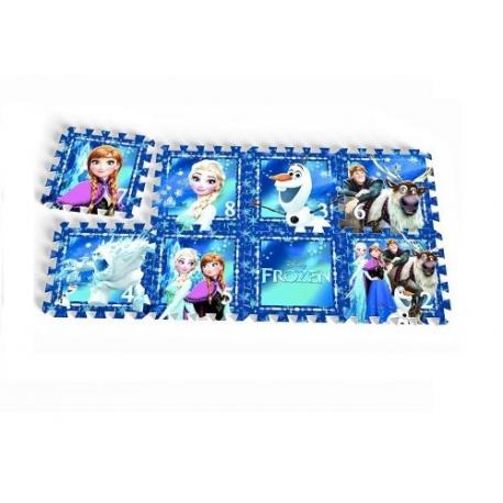 "Knorrtoys - Covoras Puzzle Frozen, ""Frozen Night"", 8 buc"
