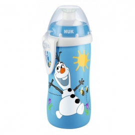 NUK - Cana Junior Cup 300ml, 3 ani+, Disney Frozen, Abastru