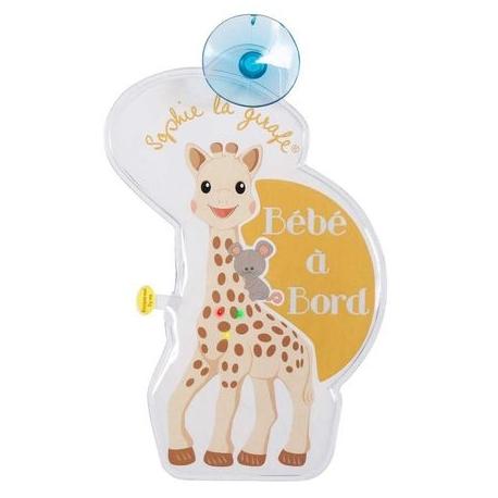 Vulli - Semnal luminos Girafa Sophie cu leduri, Bebe a Bord