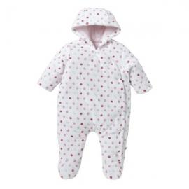 Sainsbury's - Combinezon iarna bebelusi Pink Hearts