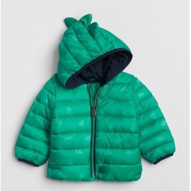 GAP - Geaca copii Lightweight, Green Dino