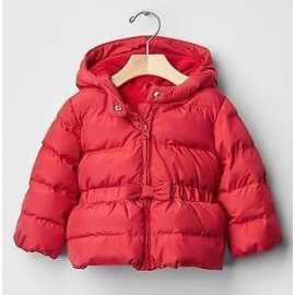 GAP - Geaca fetite Warmest Puffer, Red