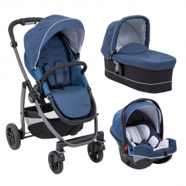 Graco - Carucior Evo Avant 3 in 1, Ink i-Size