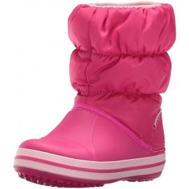 crocs - Cizme de zapada, Winter Puff Boot, Candy Pink