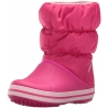 crocs - Cizme de zapada, Winter Puff Boot, Candy Pink