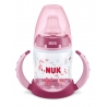 NUK - Canita cu manere First Choice+ 150ml, 6 luni+, Flamingo