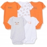 Mothercare - Set Body cu maneca scurta Little Tiger, 5 buc