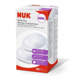 Nuk - Tampoane de san Ultra Dry, 30 buc