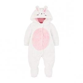 Mothercare - Salopeta bebelusi Fluffy Bunny