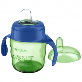 Philips Avent - Cana Easy Sip Spout Cup 6+ luni 200ml, Verde