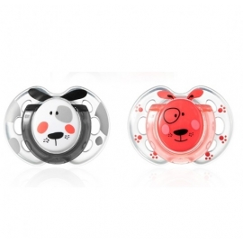 Tommee Tippee - Suzete Fun Style, 0-6 luni Dogs
