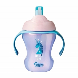 Tommee Tippee - Cana Easy Drink cu Pai 230ml 6+ luni , Roz