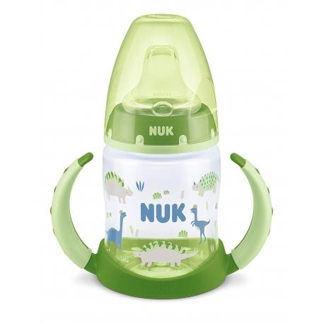 NUK - Canita cu manere First Choice+ 150ml, 6 luni+, Verde