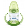 NUK - Canita cu manere First Choice+ 150ml, 6 luni+, Verde