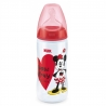 NUK - Biberon First Choice+ 300ml, Disney Minnie Mouse