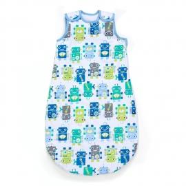 Mothercare - Sac de dormit Snoozie, Robots, 2.5 TOG