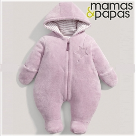 Mamas&Papas - Combinezon Fur Pramsuit, Welcome to the World, Lila
