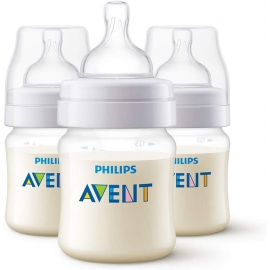 Philips AVENT - Set 3 biberoane Classic+ 150ml, 0 luni +