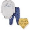 Mothercare - Set cadou 3 piese, Love you Mummy Daddy