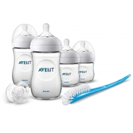 Philips AVENT - SCD290/01 Set biberoane nou nascuti Natural