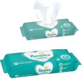 Pampers - Servetele umede Sensitive 2X56 buc