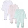 Mothercare - Pijamale body all-in-one Bird, 3 buc