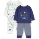 Mothercare - Set Pijama Boy Dino, 2 buc