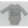 GAP - Body cu maneca lunga, Boy Print
